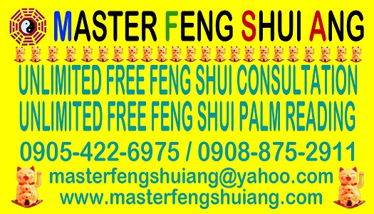 MASTER FENG SHUI ANG OFFERS FREE CONSULTATION AND FREE FORTUNE TELLING