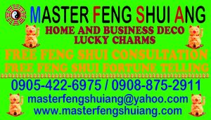 MASTER FENG SHUI ANG SERVICES - FREE CONSULTATION
