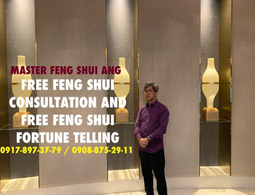 MASTER FENG SHUI ANG PUSH AWAY BAD LUCK – FREE CONSULTATION