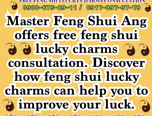 MASTER ANG FENG SHUI FREE LUCKY CHARMS CONSULTATION